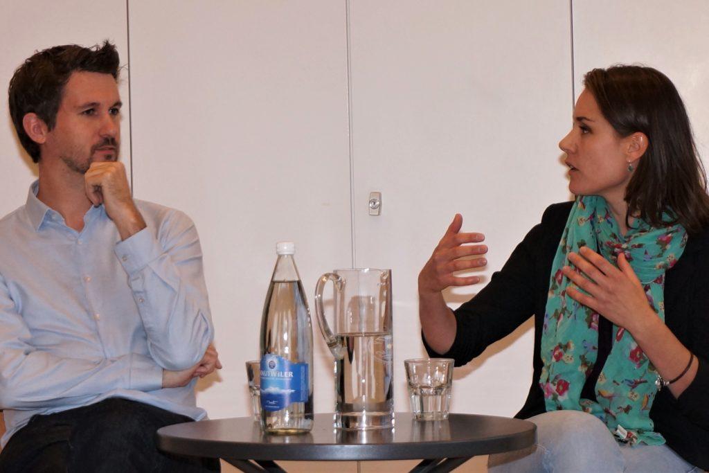 Forum mit Politker Michael Köpfli, glp und Tanja Bauer, SP