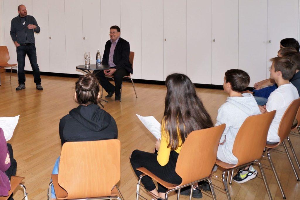 Forum mit Gemeindepräsident Daniel Bichsel
