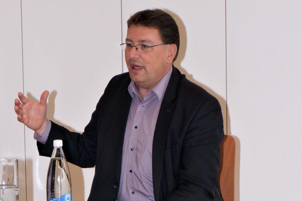 Gemeindepräsident Daniel Bichsel