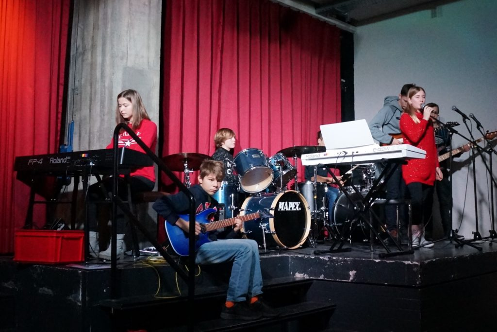 Musikalische Umrahmung Schlussfeier